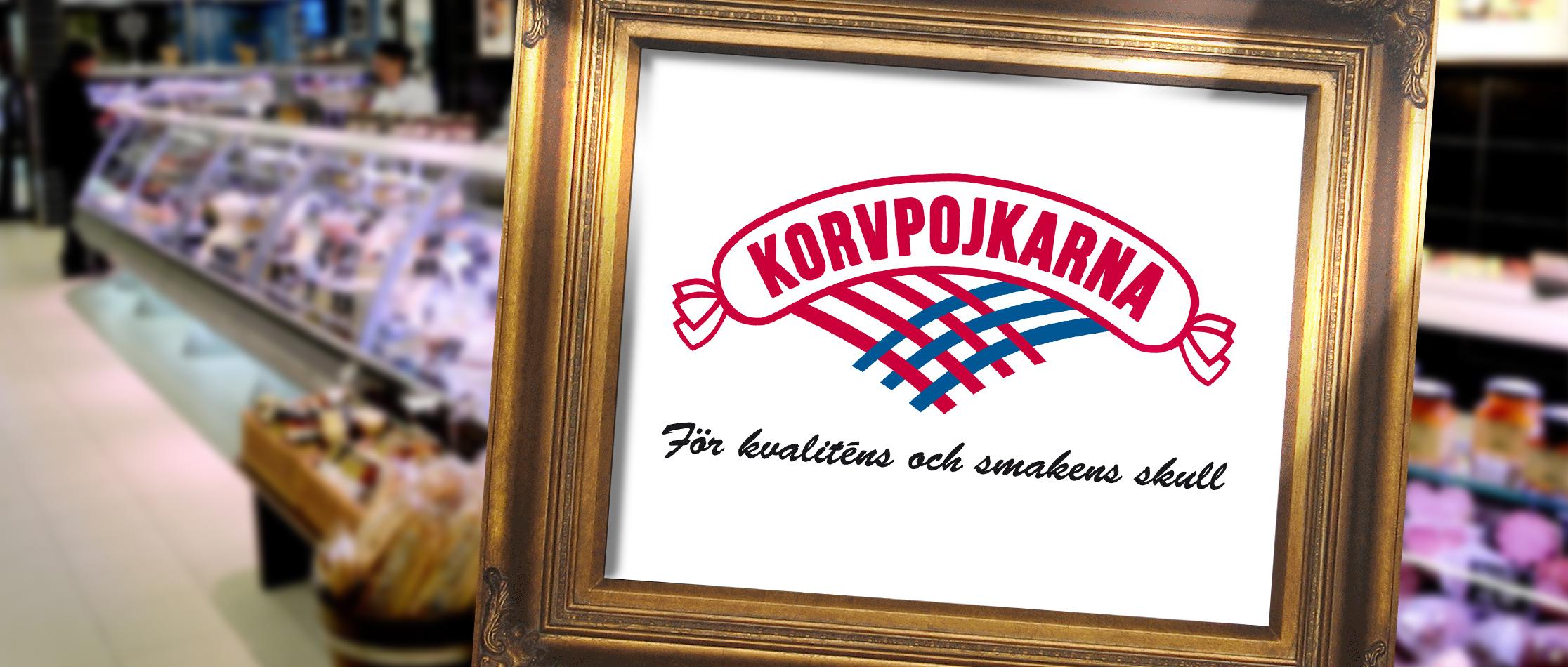 Loggotyp för Korvpojkarna i Halmstad